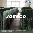 rapid deployment Joesco defense bastion with beige geotextile